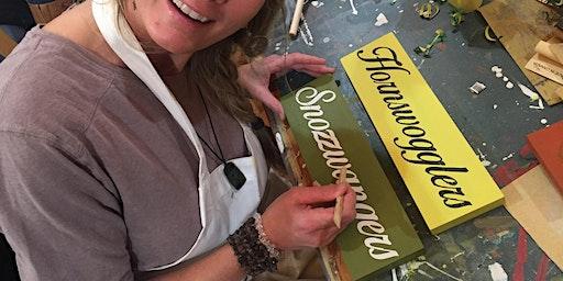 Gift Making Sign Workshop