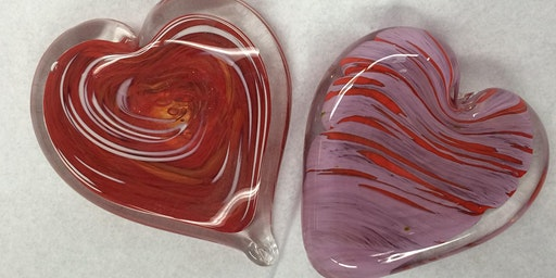 First Friday Hot Glass Experience: Heart