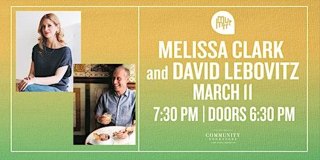 Melissa Clark & David Lebovitz tickets