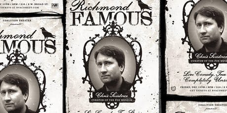 Richmond Famous: Chris Semtner, Curator of the Poe Museum tickets