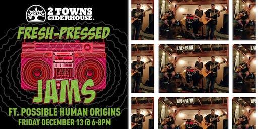 Fresh-Pressed Jams ft. Possible Human Origins [Acoustic Trio]