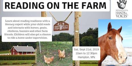 MNH&V Family Event: Reading On The Farm tickets