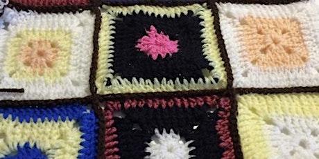 Crochet Beginner - £35 - Making Granny Squares tickets
