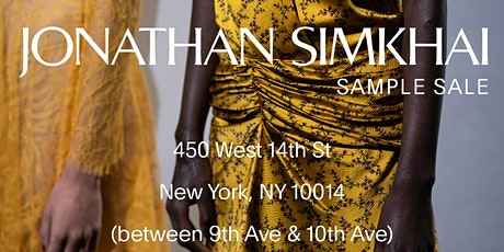 Jonathan Simkhai SAMPLE SALE tickets