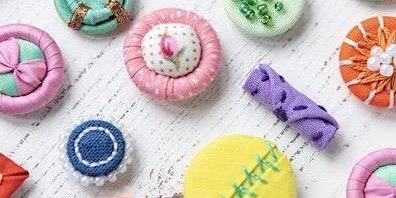 Beautiful Buttons Workshop - £35