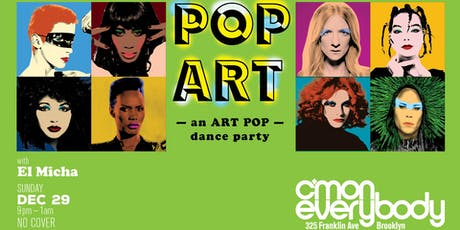 POP ART tickets