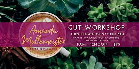 GUT WORKSHOP - Emerald Tuesday 4th Feb 2020 tickets