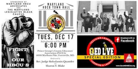 Maryland HBCU Town Hall tickets
