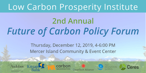 2nd Annual Future of Carbon Policy Forum