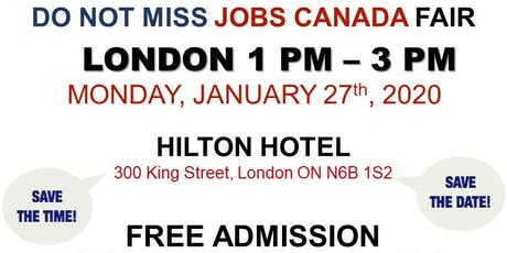 London Job Fair - January 27th, 2020 tickets
