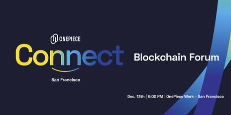 OnePiece Connect - Blockchain Forum tickets
