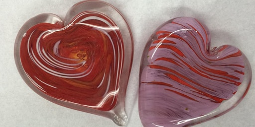 Second Sunday Hot Glass Experience: Heart