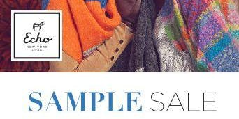 Echo Sample Sale