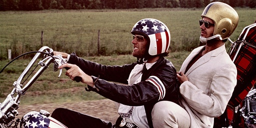 35mm screening of 1960's classic EASY RIDER
