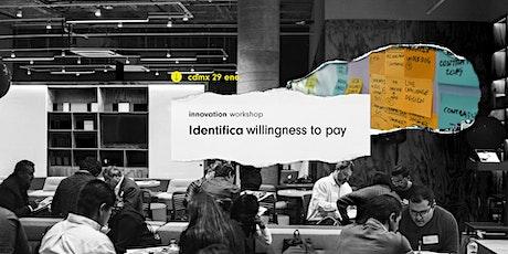 Innovation Workshop @CDMX: Identifica Willingness to Pay boletos