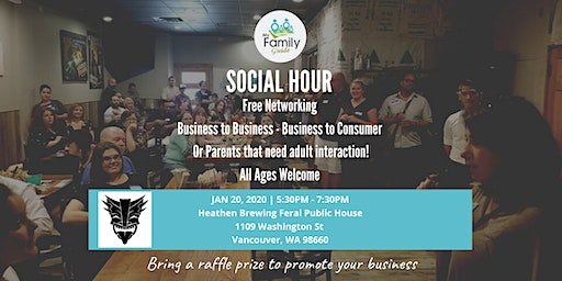 Social Hour and Networking - My Family Guide (January)