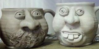 Ceramic Face Mug  Workshop