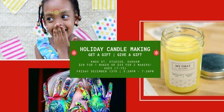 Holiday Candle Making (Youth) tickets