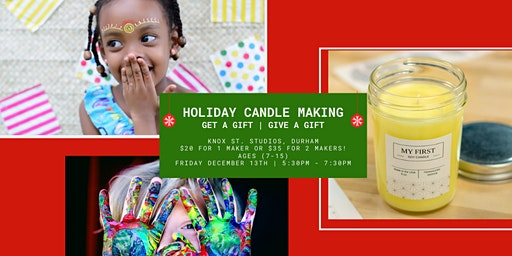Holiday Candle Making (Youth)