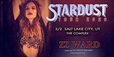 ZZ WARD tickets