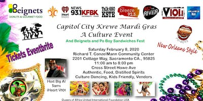 Capitol City Krewe Mardi Gras Event & Beignets and