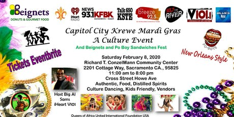 Capitol City Krewe Mardi Gras Event & Beignets and tickets