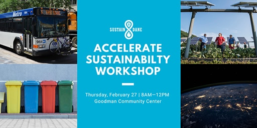Accelerate Sustainability Workshop