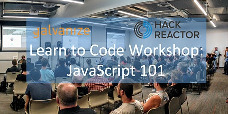 Learn to Code Workshop: JavaScript 101 tickets