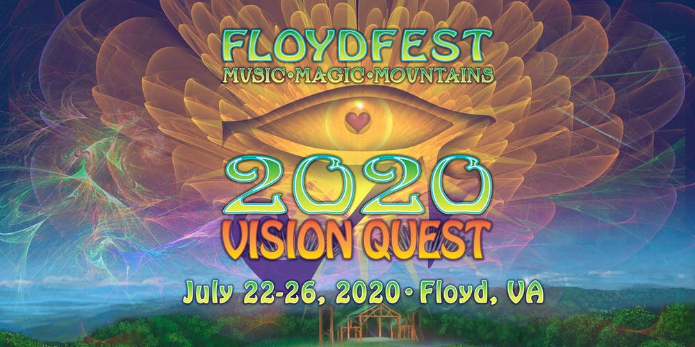 Smith Mountain Lake Events 2020.Floydfest 2020 Vision Quest Tickets Floyd Eventbrite