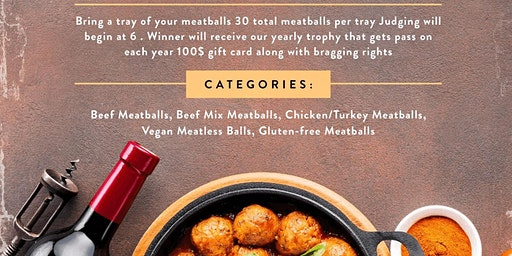 Meatball Cooking Challenge - $100 Gift Card Prize
