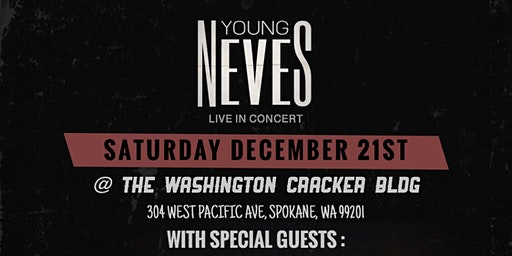 YOUNG NEVES LIVE @ THE WA CRACKER BLDG