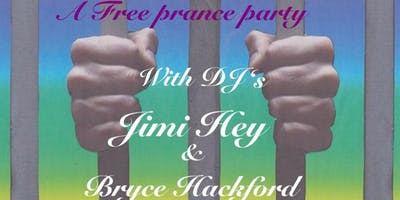 Rainbow Jail, a free dance party with DJ's Jimi Hey and Bryce Hackford