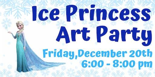 Ice Princess Art Party
