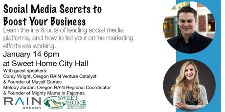 Social Media Secrets to Boost Your Business tickets