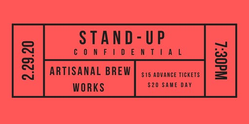 Stand-Up Confidential at Artisanal Brew Works