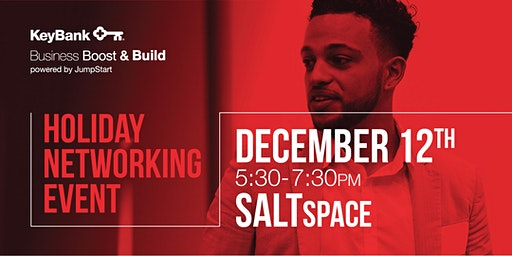 Holiday Networking and Open Mic Pitch Event