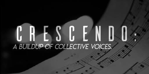 Crescendo: A Buildup of Collective Voices