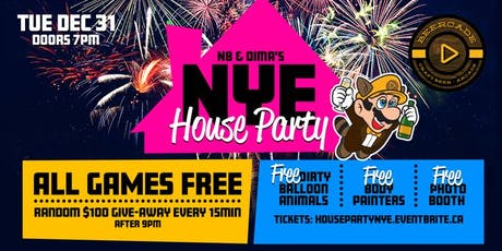 Beercade's New Years Eve House Party tickets