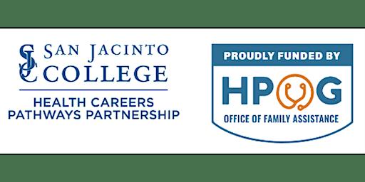 HPOG Info Session San Jacinto College, Central Campus 1/07/20