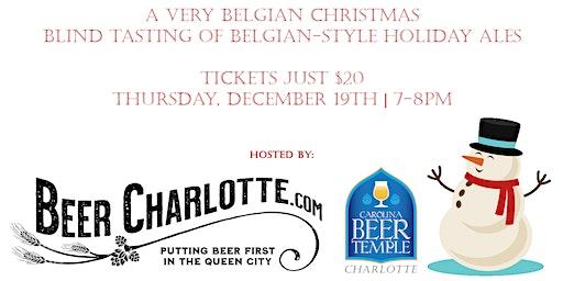 Belgian Christmas Beer Blind Tasting
