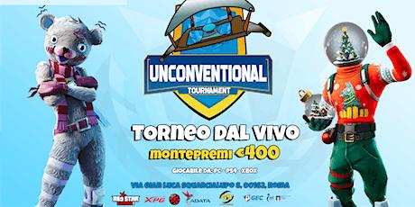 Unconventional Tournament XIII - XPG Edition biglietti