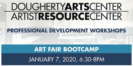 Art Fair Bootcamp - Artist Resource Center tickets
