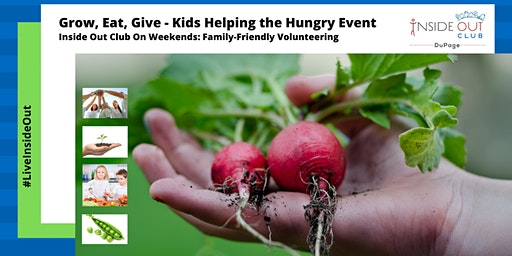 Grow, Eat & Give: Kids Helping the Hungry Event