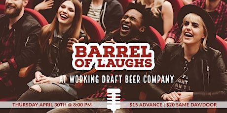 Stand-Up Confidential at Working Draft Beer Company tickets