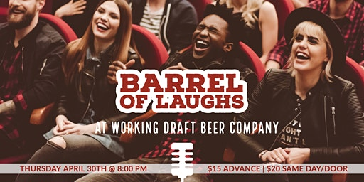 Stand-Up Confidential at Working Draft Beer Company