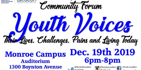 SISFI Community Forum - Youth Voices, their lives, challenges, pains, needs tickets