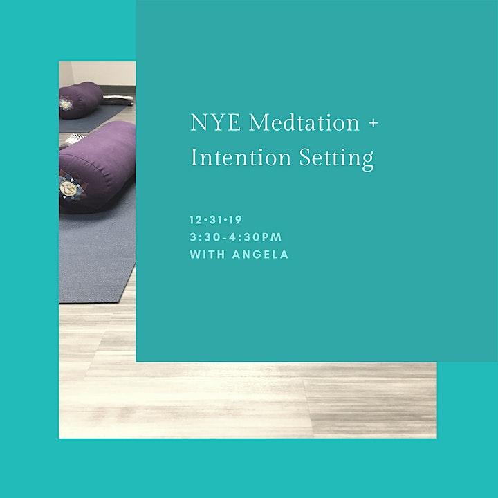 NYE Meditation + Intention Setting image