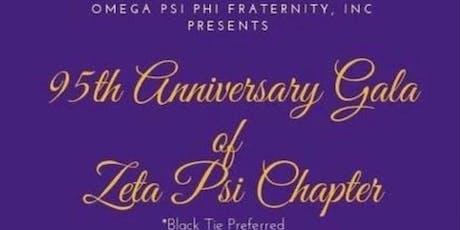 Zeta Psi Chapter 95th Anniversary Gala tickets