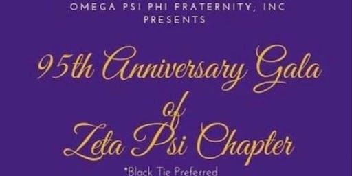 Zeta Psi Chapter 95th Anniversary Gala
