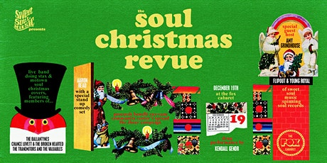 Sweet Soul Music Presents: The Soul Christmas Revue! tickets